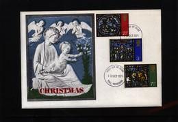 Great Britain 1971 Christmas  FDC - 1971-1980 Em. Décimales