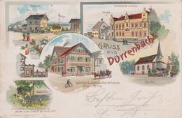 67  GRUSS AUS DURRENBACH   LITHOGRAPHIE - France