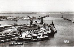 BOULOGNE SUR MER-LA GARE MARITIME-1961-PHOTO VERITABLE - Boulogne Sur Mer