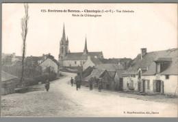 CPA 35 - Chantepie - Vue Générale - Route De Chateaugiron - Unclassified