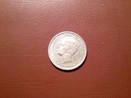 100 Reis D. Manuel II  1909   Silver - Portugal