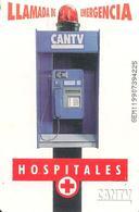 CARTE-PUCE-VENEZUELA-THEME-HOSPITALES-TBE - Venezuela