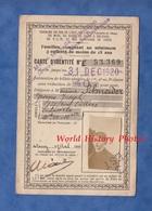 Carte D'identité Chemin De Fer De L' Est - 1920 - NANCY - Georges Joseph SCHNEIDER Laneuveville ? Garçon Boy Train - Transportation Tickets