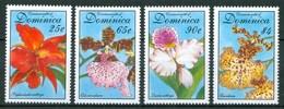 1994 Dominica Orchidee Orchids Orchidèes Fiori Flowers Blumen Fleurs MNH** Ye140 - Dominica (1978-...)
