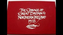 Monedas Gran Bretaña E Irlanda Del Norte 1973 - Mint Sets & Proof Sets