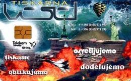 Rare Phonecard Col: SI-TST-VIS-0016 - Business Card. Not Used - Mint. Printing House Vesel - Telekom Slovenije. - Slowenien