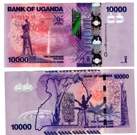 Uganda - 10000 Shillings 2015 UNC Ukr-OP - Uganda