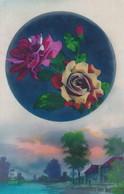 FLEURES ET PAYSAGE FLORES Y PAISAJE FLOWERS AND LANDSCAPE ROSAS ROSES. NOYER. CIRCULEE-BLEUP - Bloemen