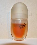 Joli Flacon CIAO HOUBIGANT Entamé Vrais Parfum Vintage 15 Ml Bouchon En Verre - Fragrances