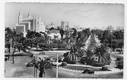 CASABLANCA EN 1957 - N° 291 - VUE GENERALE AVEC CITROEN 2CV - PLIS  - FORMAT CPA  VOYAGEE - Casablanca