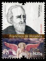 !■■■■■ds■■ Portugal 2017 AF#4817ø Francisco D'Holanda Arts History Renaissance Nice Stamp VFU (k0003) - 1910 - ... Repubblica