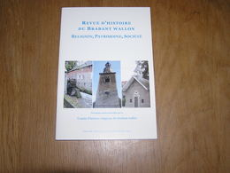 REVUE D' HISTOIRE RELIGIEUSE DU BRABANT WALLON 28 - 4 Régionalisme Religion Eugène Goblet Clergé Jodoigne Enseignement - Culture