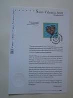 Timbre Premier Jour 2001 - Saint Valentin 2001 Christian Lacroix - Collections (sans Albums)