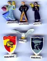 Lot De 6 FÈVES HARRY POTTER TM & © 2001 2003 2004 Warner Bros - Strips