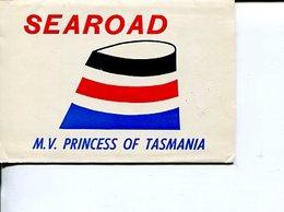 (Booklet 83) Postcard Booklet -  Mint / Neuf - TAS- MV Princess Of Tasmania (ferry) Searoad - Australia