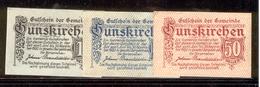 AUSTRIA NOTGELD 309 Gunskirchen - Austria