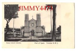 POST CARD - Roman Catholic Cathedral - Port Of Spain TRINIDAD  B. W. J. - Trinidad