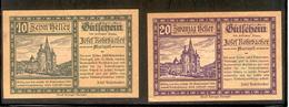 AUSTRIA NOTGELD 591 Mariazell - Austria