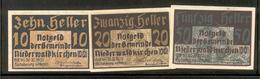 AUSTRIA NOTGELD 673 Niederwaldkirchen Lot 1 - Austria