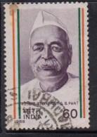 India Used 1988,  Pundit Govind Vallabh Pant - Oblitérés