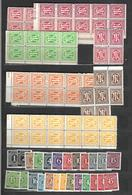 Allemagne  Lot De Timbres Neufs ** MNH   Effigies Et Tlmbres 1945 Et 46 Zône Américaine Et Toutes Zônes - Bizone