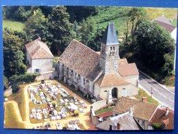 78 ,saint Rémy L'honoré ,l'église Et Le Cimetière En 1984 .. Circulée Timbrée.......cpsm....gf   . - Frankreich