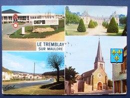 78 ,le Tremblay Sur Mauldre ,vues Diverses  .. Circulée Timbrée.......cpsm....gf   . - Frankreich