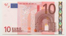 08 - BILLET 10 EURO 2002 NEUF Signature JEAN CLAUDE TRICHET N° X44453473013 - Imp R018E2 - 10 Euro