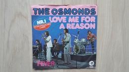 The Osmonds - Love Me For A Reason - Vinyl-Single - Disco, Pop