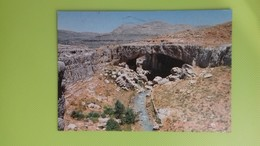 Cartolina LIBANO - Viaggiata - Postcard - The Natural Bridge - Libano