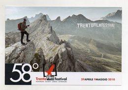 Italia - Trento - 2010 - 58° Filmfestival - Con Doppio Annullo Della Manifestazione - (FDC9653) - Trento