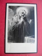 FRANCHI.Frau MARIA BAUER,Sodalin Der Marianischen Frauenkongregation Wien XV. - Devotion Images