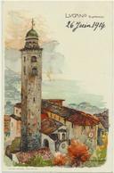 Lugano - S.Lorenzo Künstlerkarte Wielandt - TI Tessin