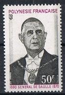 POLYNESIE N°89 N**  GENERAL DE GAULLE - Polynésie Française