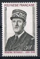 POLYNESIE N°90 N**  GENERAL DE GAULLE - Neufs