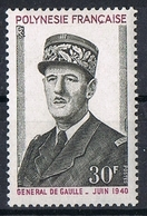 POLYNESIE N°90 N**  GENERAL DE GAULLE - Polynésie Française