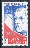 POLYNESIE N°159 N**  GENERAL DE GAULLE - Polynésie Française