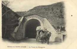 Environs De SAINT ANDRE  Le Tunnel Du Marquairés Bel Attelage RV - Francia
