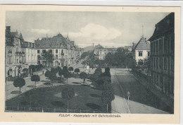 Fulda - Kaiserplatz Mit Bahnhofstrasse - Um 1910 - Fulda