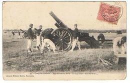 CAMP DE CHALONS MANOEUVRES DE FORCE LE 155 COURT EN BATTERIE    ****   A   SAISIR ***** - Camp De Châlons - Mourmelon