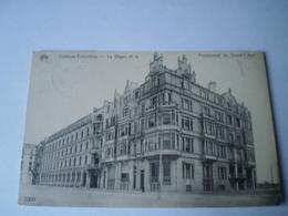 Oostende - Ostende Extension // Digue Et La Pensionnat SC .. Used 1913 - Oostende