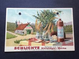 SCHLICHTE - STEINHAEGER-MARKE - 10. März 1925 - Allemagne