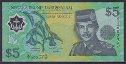 Brunei 5 Ringgit 2002 UNC - Brunei