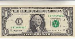 Federal Reserve Note, One Dollar 1995 - Bilglietti Della Riserva Federale (1928-...)