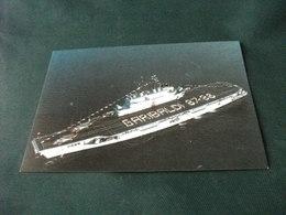 NAVE SHIP GUERRA GARIBALDI 87 88 INCROCIATORE CON DUE ELICOTTERI SUL PONTE - Guerra