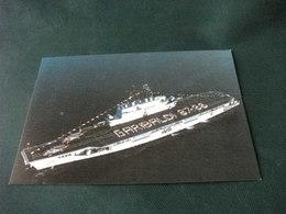 NAVE SHIP GUERRA GARIBALDI 87 88 INCROCIATORE CON DUE ELICOTTERI SUL PONTE - Elicotteri