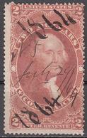 UNITED STATES   SCOTT NO. R81C      USED    YEAR  1862 - Revenues