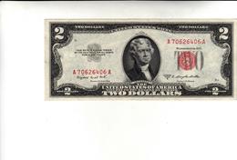 Two Dollars The United States Of America 1953 - Small Size -Taglia Piccola (1928-...)