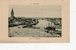 Dunkerque Quai Du Leughenaer , Encadrée ( Hôtel De Ville , Bassin Du Commerce ... ; - Dunkerque