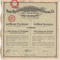 Banco Hipotecario De Crédito Territorial Mexicano Réf,1 - Banque & Assurance